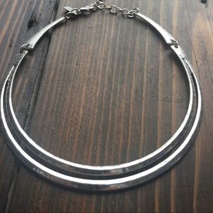 American Eagle Silver Necklace